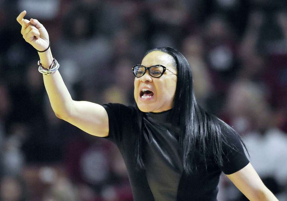 South Carolina head coach Dawn Staley. Photo: The Associated Press File Photo  / FR155191 AP