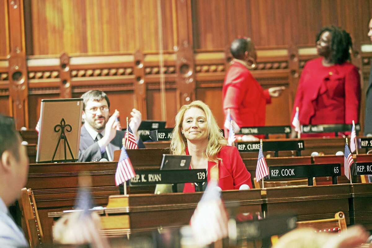 State Rep. Michelle Cook has been appointed deputy speaker by Speaker of the House Joe Aresimowicz.