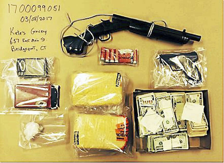 Some of the items seized. Photo: Courtesy Of Connecticut State Police