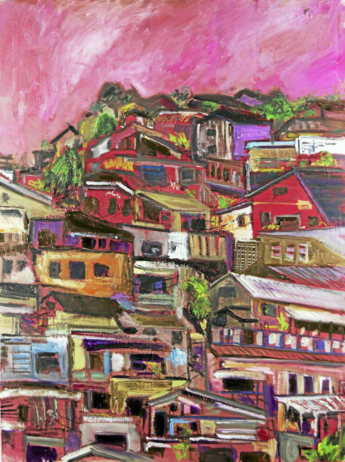 Works by artist Zeb Mayer will be shown at Serendipity Gallery in Litchfield, with an opening reception on March 18.