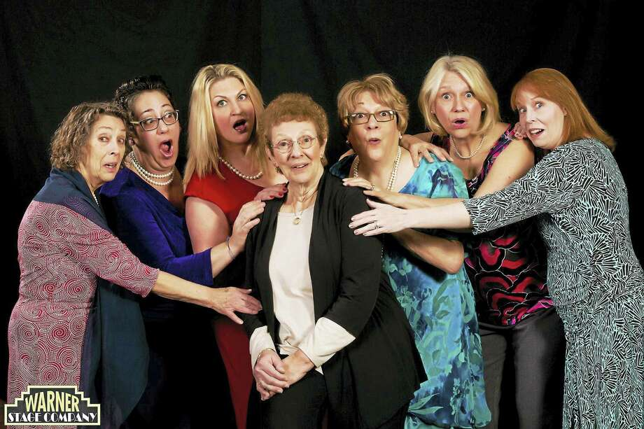 "The cast of ""Calendar Girls,"" presented by the Warner Stage Company, performs the heartwarming tale on weekends through March 19. Photo: Contributed Photos  / http://www.mandimartini.com"