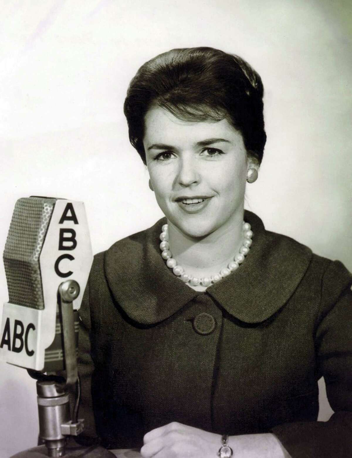 This 1967 photo made available by ABC News shows Anne Morrissy Merick, who fought to give female reporters equal access to cover the Vietnam War. Morrisey Merick died on May 2 in Naples, Fla. She was 83.