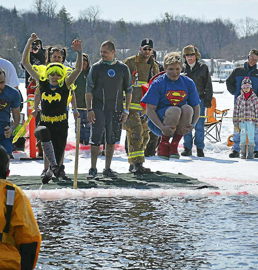 Contributed photos Teams are still forming and registration is open for Special Olympics Connecticut's Winsted Penguin Plunge, set for March 4. The annual fundraiser encourages communities to come together and take the plunge into icy waters to support its more than 13,000 athletes of all abilities who participate in sports training and competition year-round. All are invited to participate, including individuals, friends and families, and teams representing schools, businesses, organizations and clubs. Photo: Digital First Media