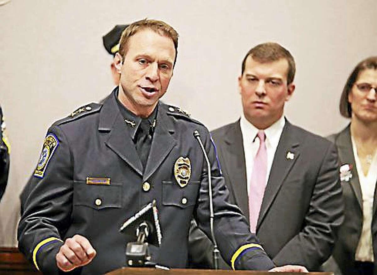 Farmington Police Chief Paul Melanson