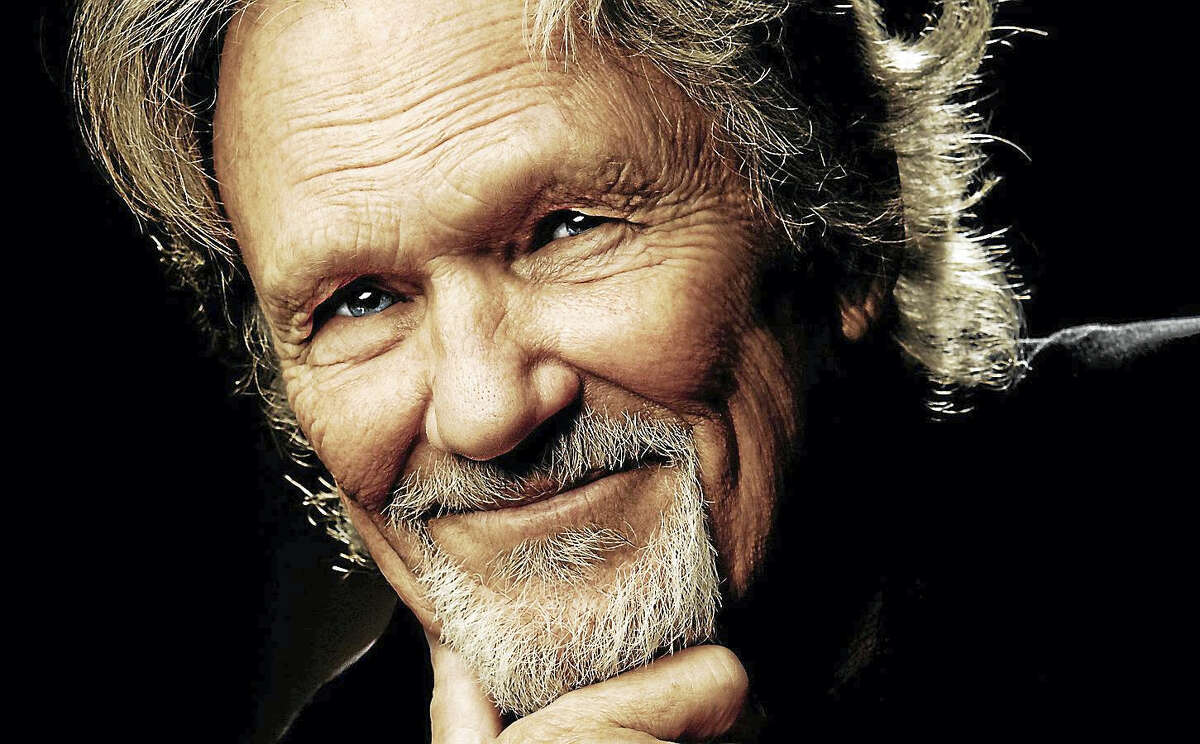 Contributed photo Kris Kristofferson is set to perform at the Garde Arts Center in New London on Saturday, May 6.