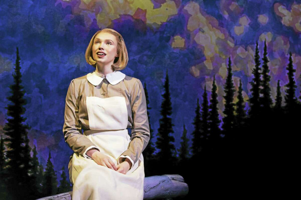 """Charlotte Maltby holds the lead role as Maria Rainer in """"The Sound of Music"""" at the Palace Theater."""