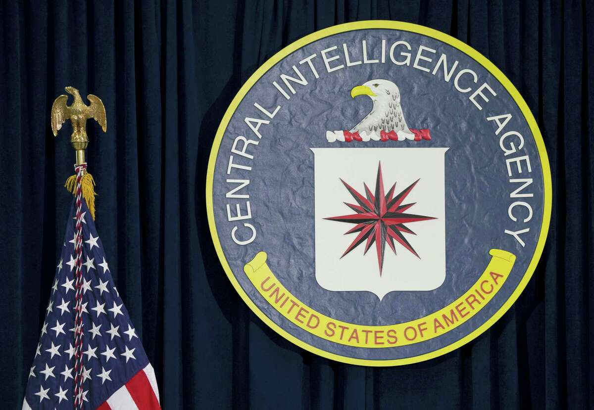 This April 13, 2016, file photo shows the seal of the Central Intelligence Agency at CIA headquarters in Langley, Va. An alleged CIA surveillance program disclosed by WikiLeaks on Tuesday, March 7, 2017, purportedly targeted security weaknesses in smart TVs, smartphones, personal computers and even cars, and enabled snooping that could circumvent encryption on communications apps such as Facebook'Äôs WhatsApp. WikiLeaks is, for now, withholding details on the specific hacks used. But WikiLeaks claims that the data and documents it obtained reveal a broad program to bypass security measures on everyday products.