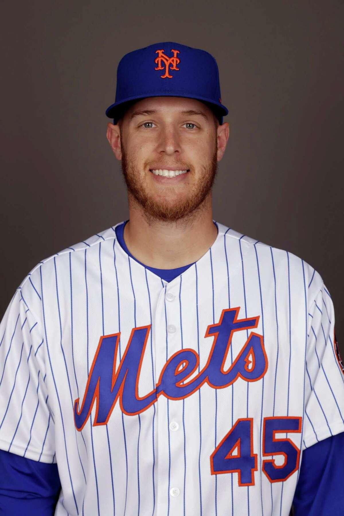 New York Mets pitcher Zack Wheeler.