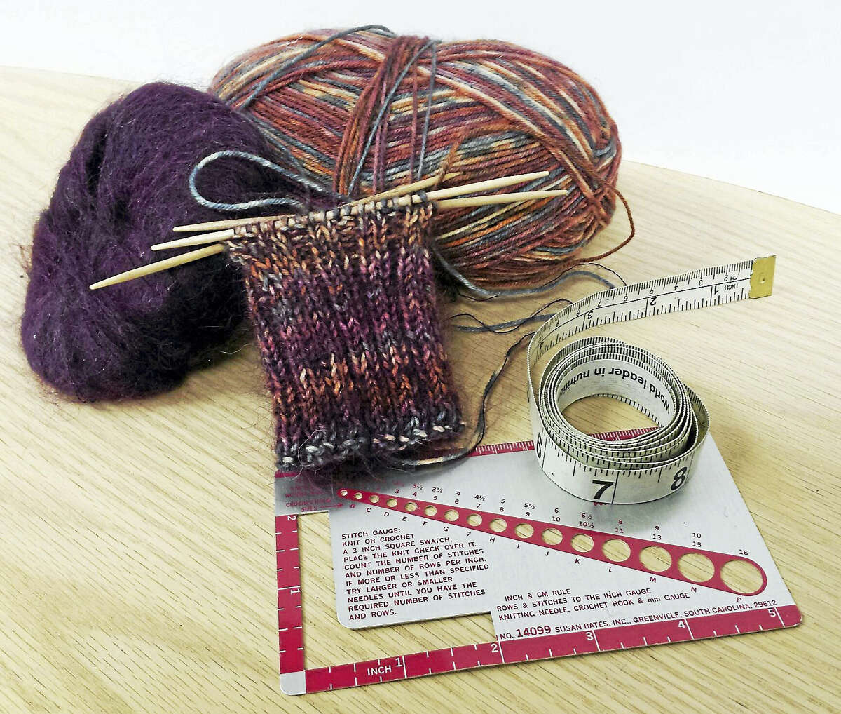 Learning to gauge your stitches saves time in the long run.