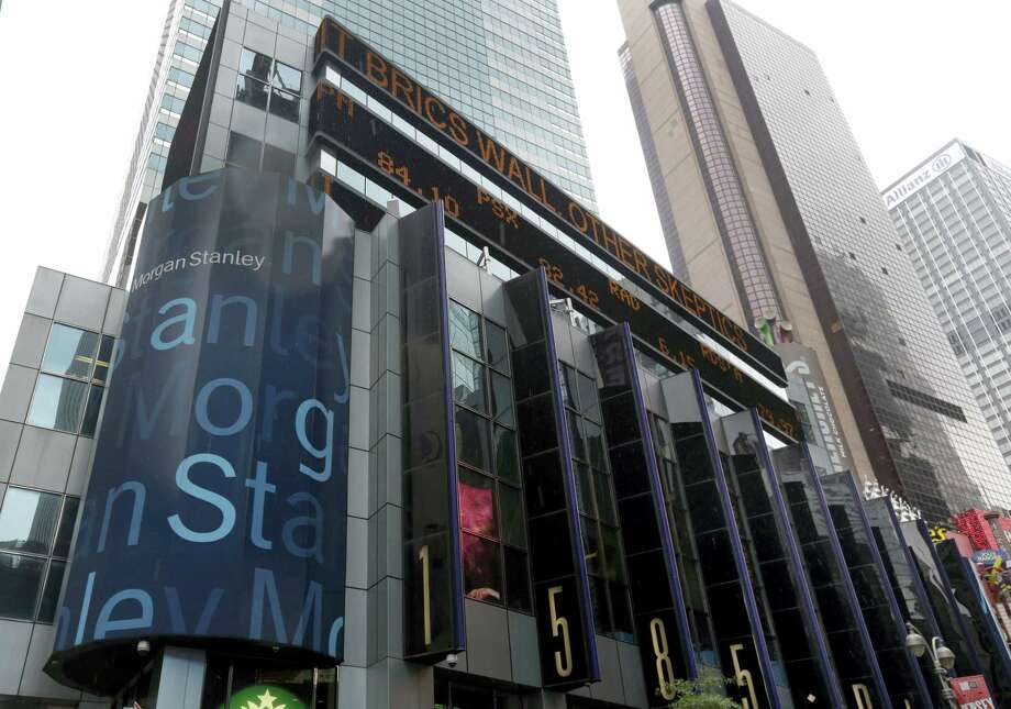 The headquarters of Morgan Stanley, near Times Square, in New York. Photo: Richard Drew — AP File Photo  / Copyright 2016 The Associated Press. All rights reserved. This material may not be published, broadcast, rewritten or redistribu