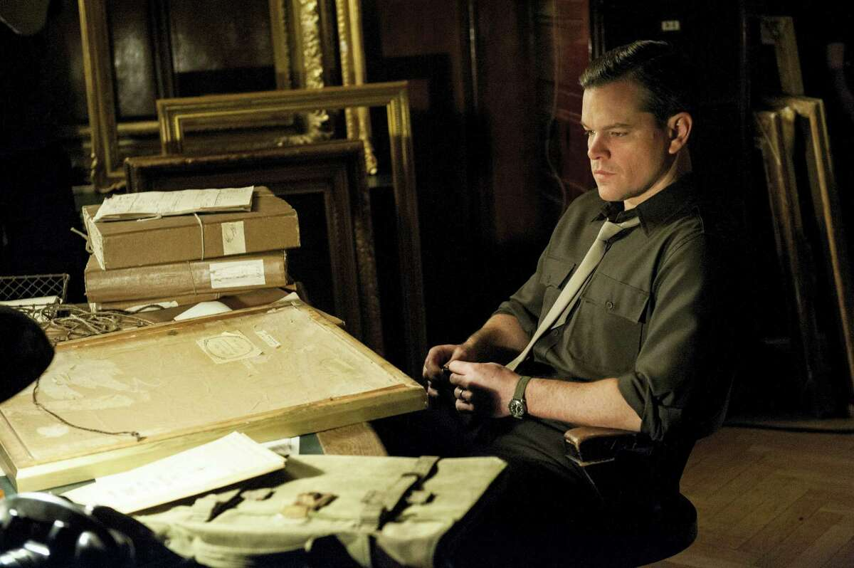 """This image released by Columbia Pictures shows Matt Damon in """"The Monuments Men."""" (AP Photo/Columbia Pictures, Claudette Barius)"""