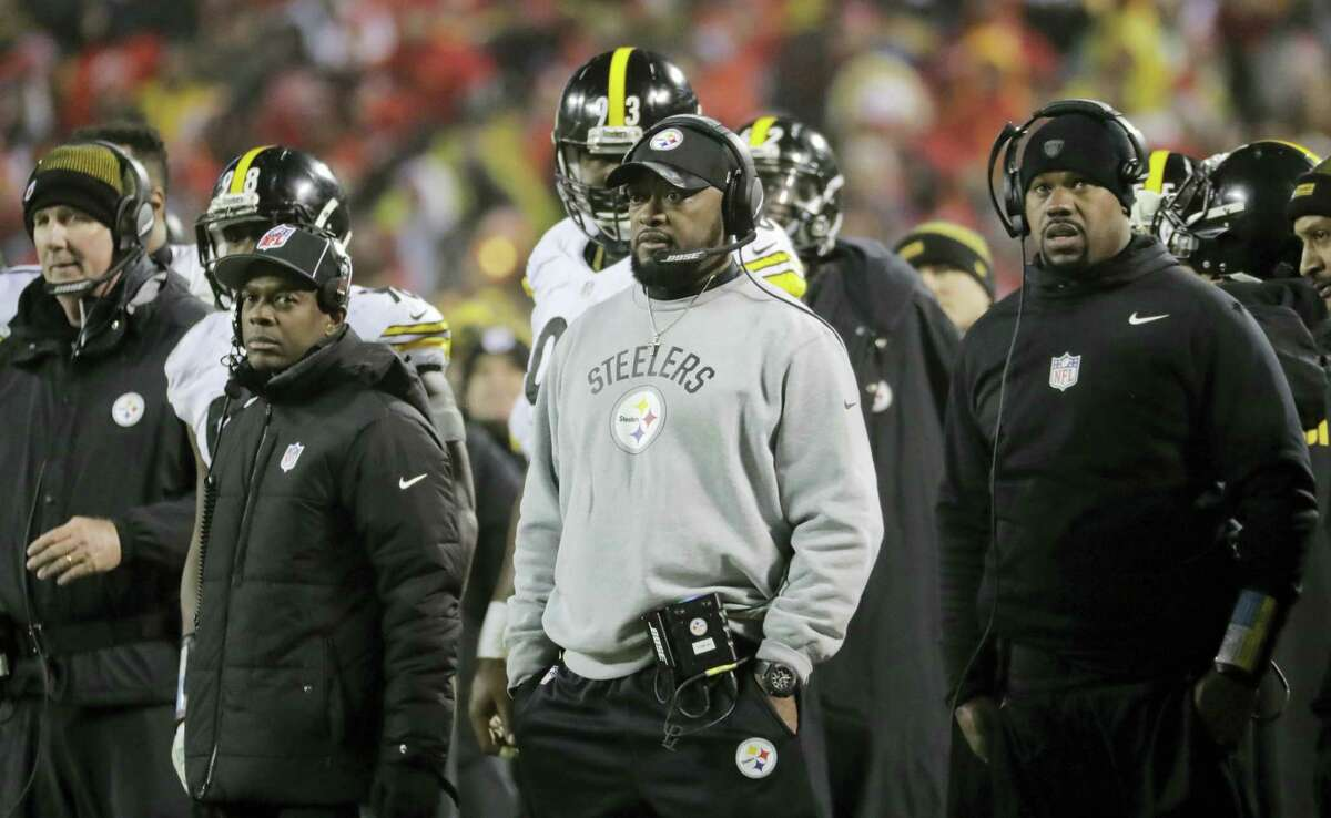 Steelers head coach Mike Tomlin.