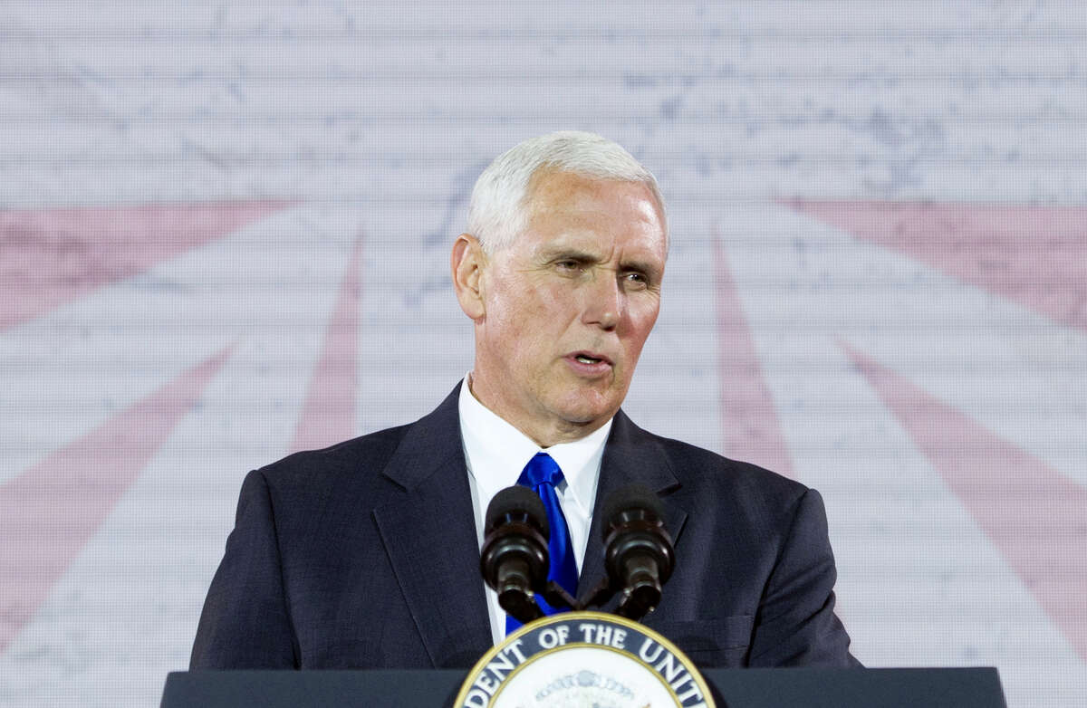 Vice President Mike Pence speaks in Washington Thursday, May 11, 2017. President Donald Trump is expected to sign an executive order launching a commission to review alleged voter fraud and voter suppression in the U.S. election system, three White House officials said.Pence and Kansas Secretary of State Kris Kobach will lead the commission, which will look at allegations of improper voting and fraudulent voter registration in states and across the nation.