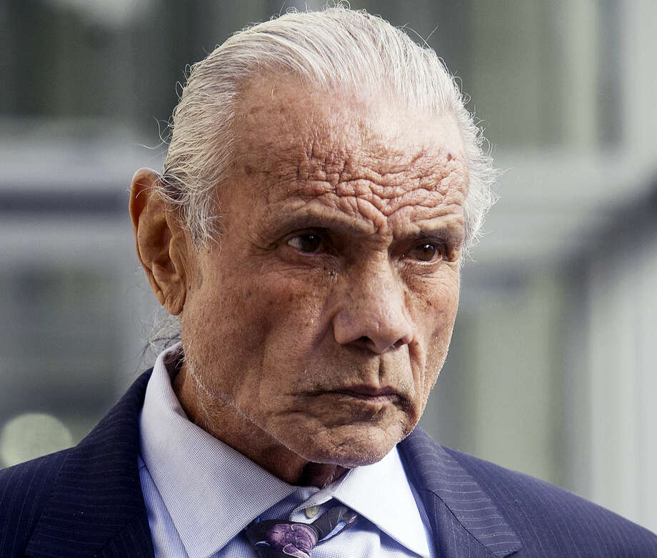 """In this Nov. 2, 2015 photo, former professional wrestler Jimmy """"Superfly"""" Snuka leaves Lehigh County Courthouse in Allentown, Pa. A lawyer representing Snuka said family members told him that Snuka died Sunday, Jan. 15, 2017, at his son-in-law's home near Pompano Beach in Florida. Snuka, who was inducted into the WWE Hall of Fame in 1996, was 73. Photo: Michael Kubel/The Morning Call Via AP, File  / The Morning Call"""