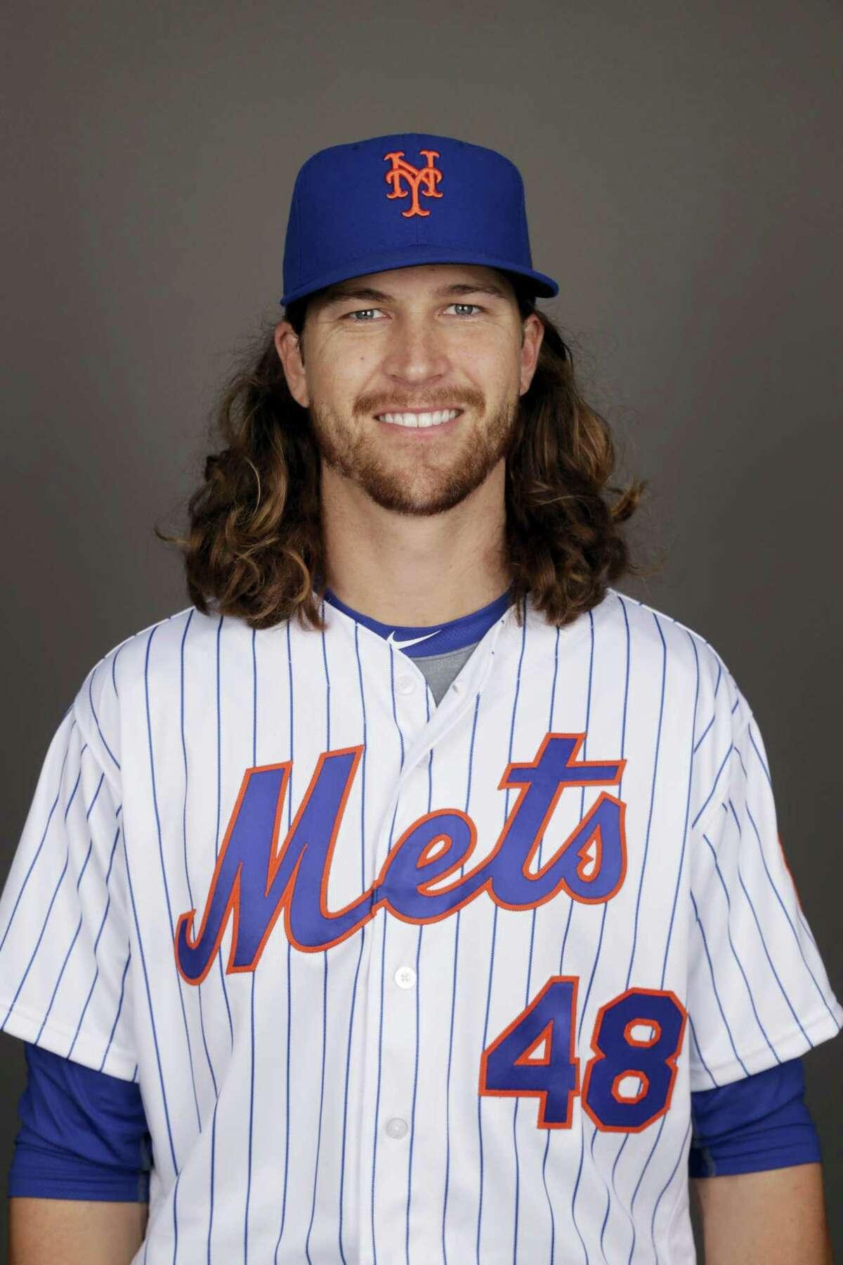 Mets pitcher Jacob deGrom.