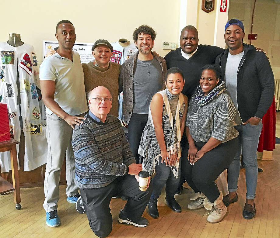 The cast of 'Trav'lin — The 1930s Harlem Musical', which opens Thursday at Seven Angels Theatre in Waterbury. Photo: Contributed Photo