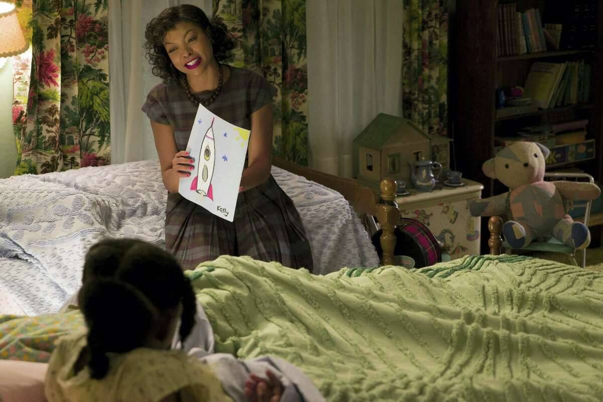 """This image released by Twentieth Century Fox shows Taraji P. Henson as Katherine Johnson in a scene from """"Hidden Figures."""""""