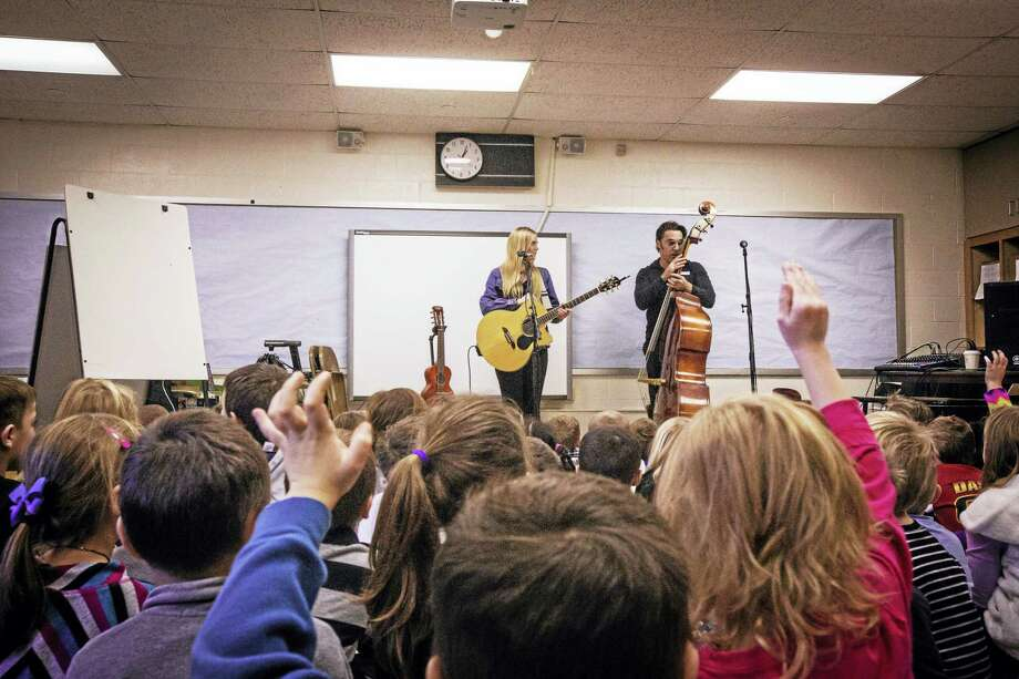 Photo: Belle Of the Fall members Julia Autumn Ford and Tracy Walton lead an Art of Song program in Berlin. The program is coming to Torrington next week. Photo: Photo By Paloma Starr
