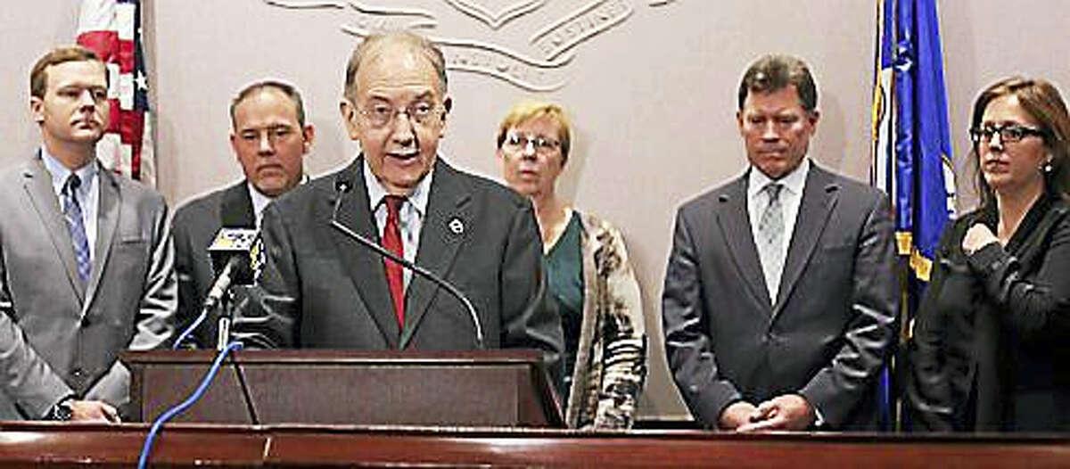 State Senate President Martin Looney