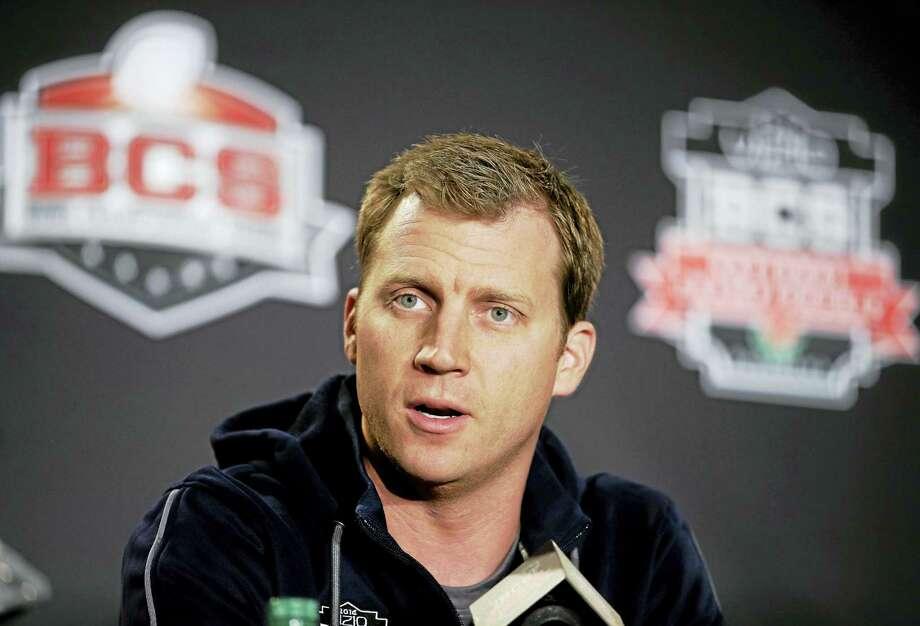 Rhett Lashlee is UConn's new offfensive coordinator. Photo: The Associated Press File Photo  / AP