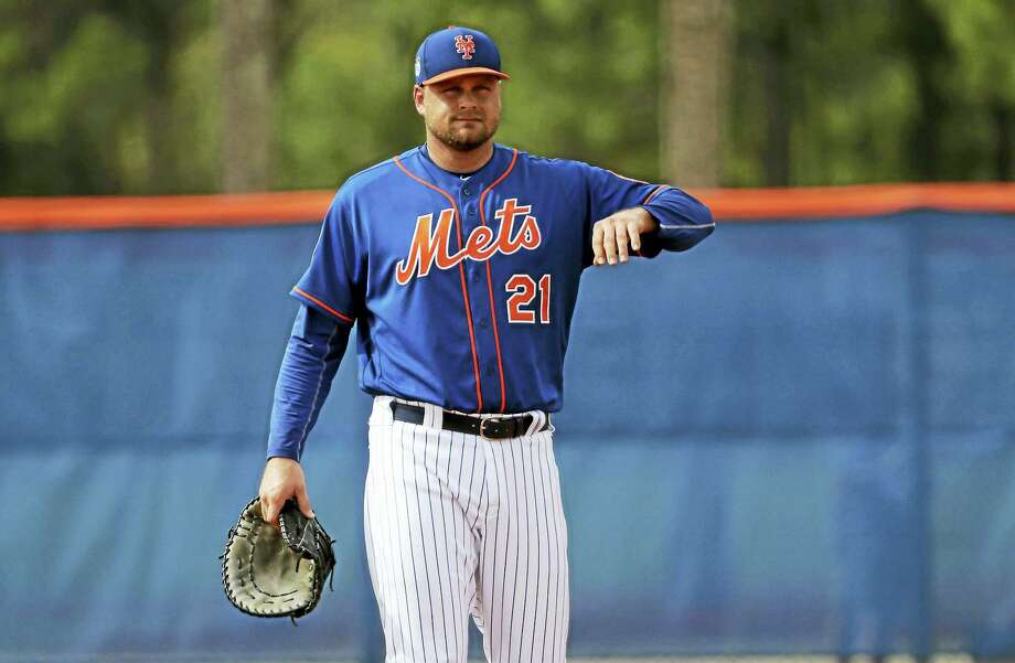 New York Mets first baseman Lucas Duda. Photo: The Associated Press File Photo  / Copyright 2017 The Associated Press. All rights reserved.