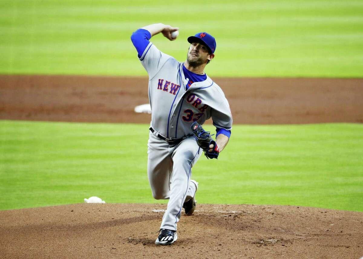 New York Mets starting pitcher Matt Harvey.