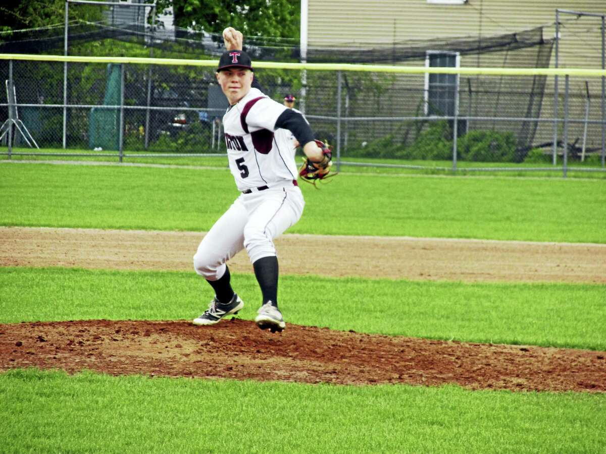 Freshman Kyle Banche was a bright spot for Torrington in a Red Raider loss to Ansonia Monday afternoon at Fuessenich Park.