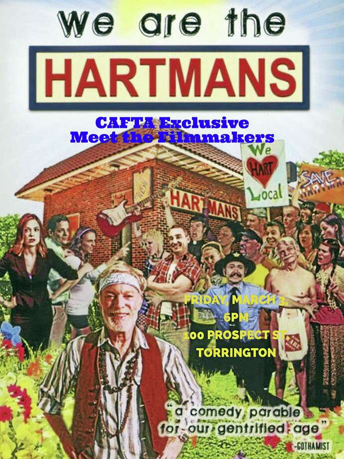 "Contributed photoCAFTA will screen ""We are the Hartmans"" with the filmmakers on Friday, March 3 at the arts center on Prospect Street in Torrington. Photo: Digital First Media"