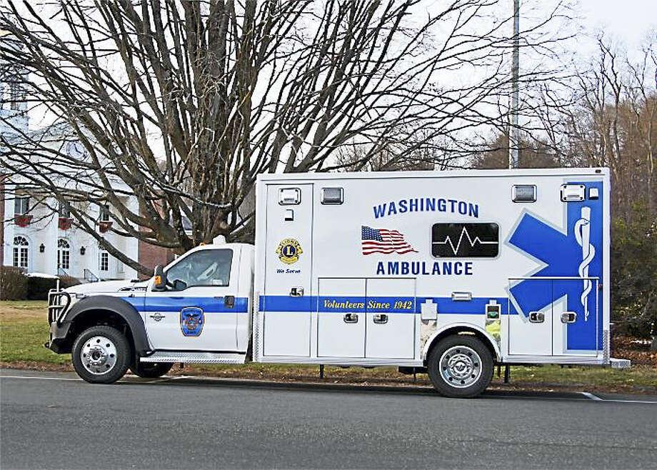 Contributed photo Washington Ambulance Association recently purchased a new vehicle. Photo: Digital First Media / Heidi Johnson