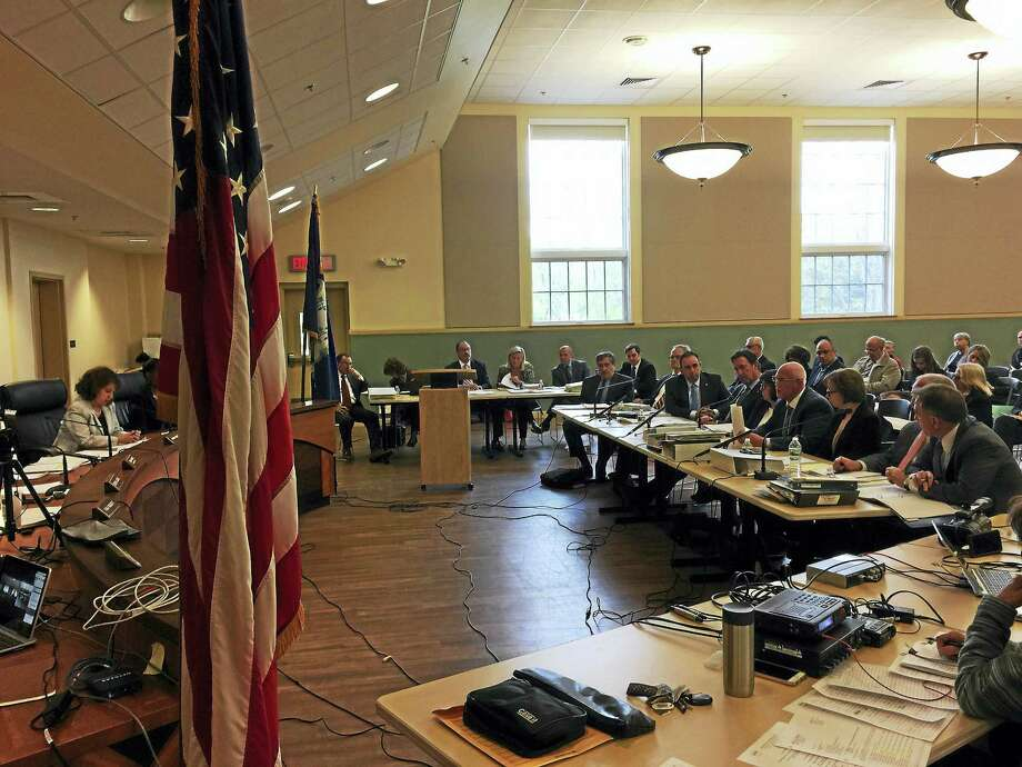 A hearing on the proposed affiliation between Charlotte Hungerford Hospital and Hartford HealthCare was held Monday in Torrington. Photo: Ben Lambert — The Register Citizen