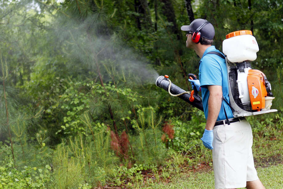 In this May 16, 2014 photo, Daniel Lewis, Mosquito Authority, sprays to kill mosquitos before the summer season, in Jacksonville, N.C. From landscaping to cleaning to pest control, businesses in maintenance industries that service residences and commercial buildings saw a 13 percent increase in sales in 2016, according to Sageworks. If you gain the right expertise, Sageworks analyst James Noe says, these businesses are easy to start because they have relatively low upfront costs and don't require large inventory, staff or dedicated office space. Photo: Maria Sestito/The Jacksonville Daily News Via AP, File  / The Jacksonville Daily News