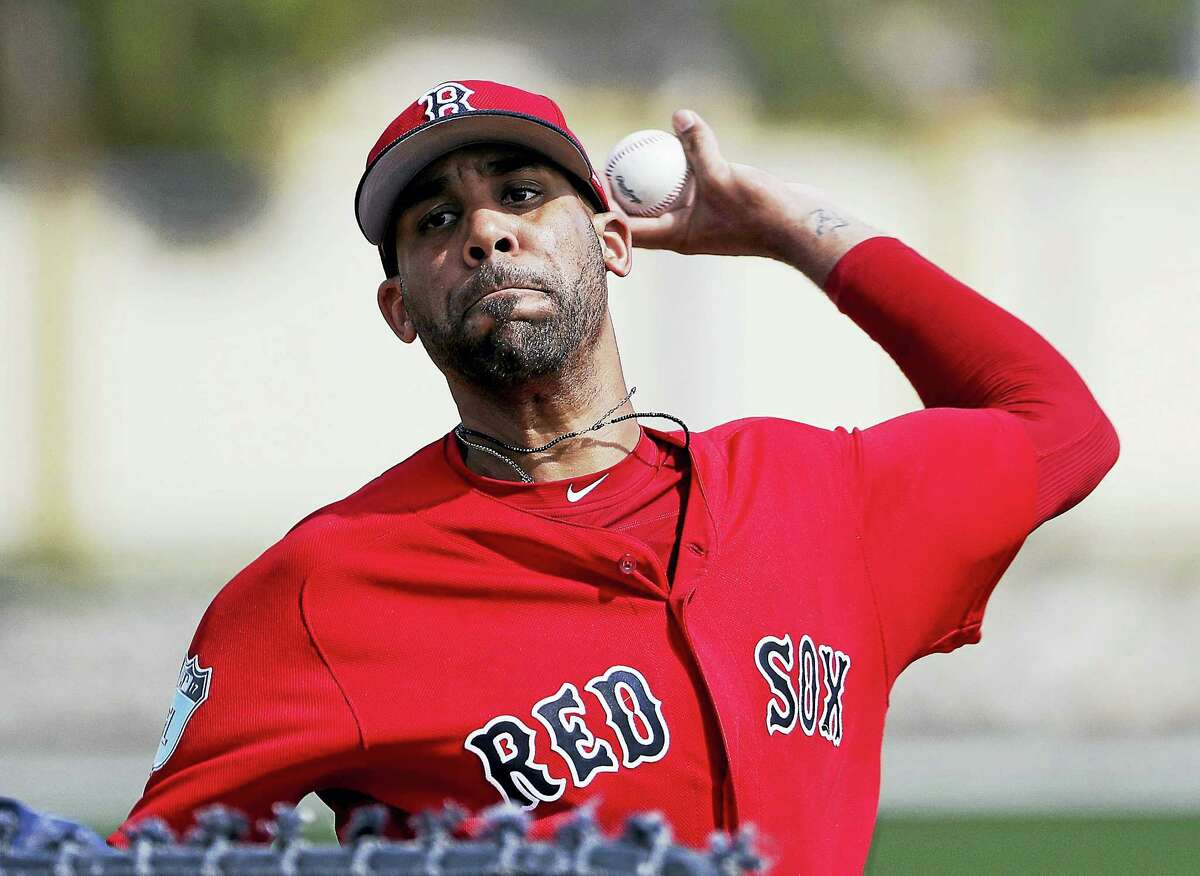 Red Sox pitcher David Price.