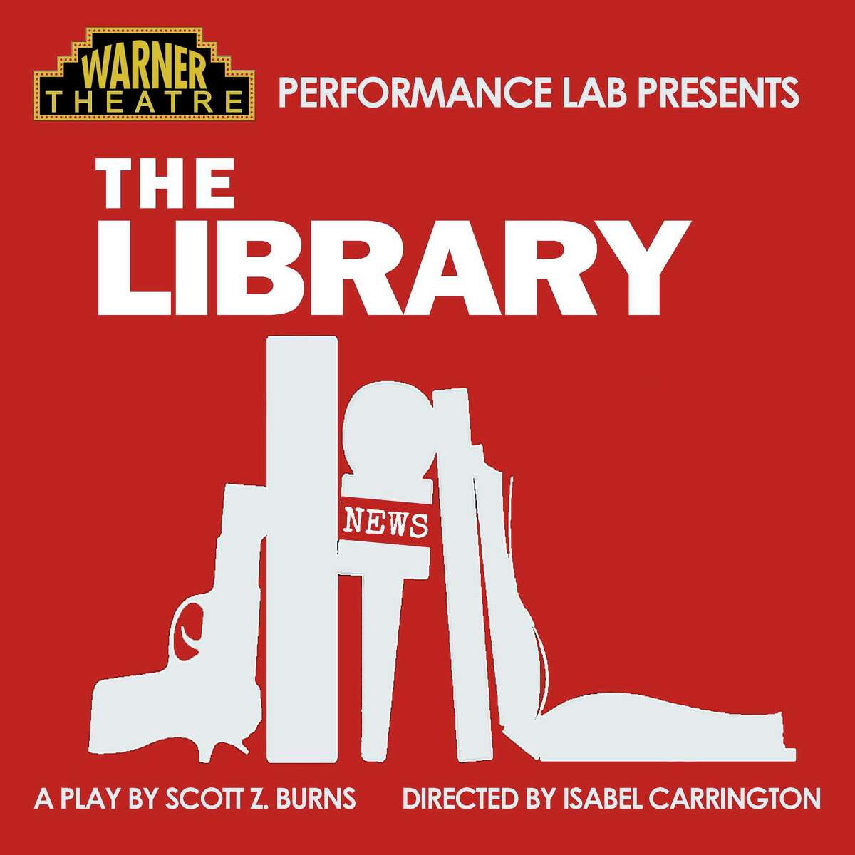 """Contributed photo The Warner Theatre's Performance Lab presents a """"chilling thriller,"""" The Library, in February."""