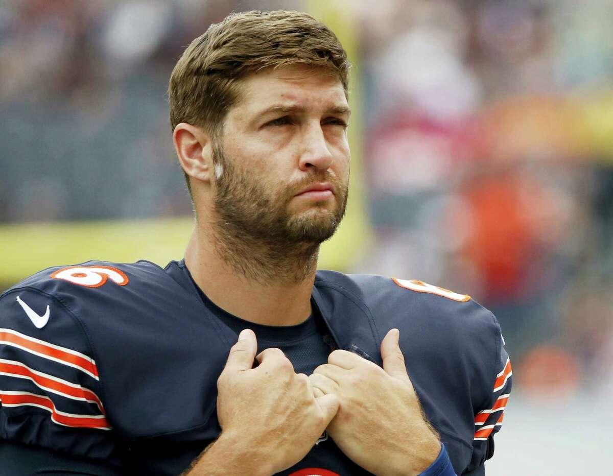 Former Bears quarterback Jay Cutler.
