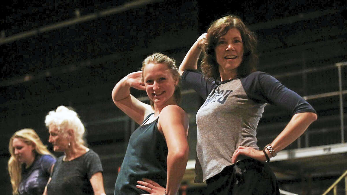 Contributed photosDancers rehearse for the Warner Stage Company's upcoming production of