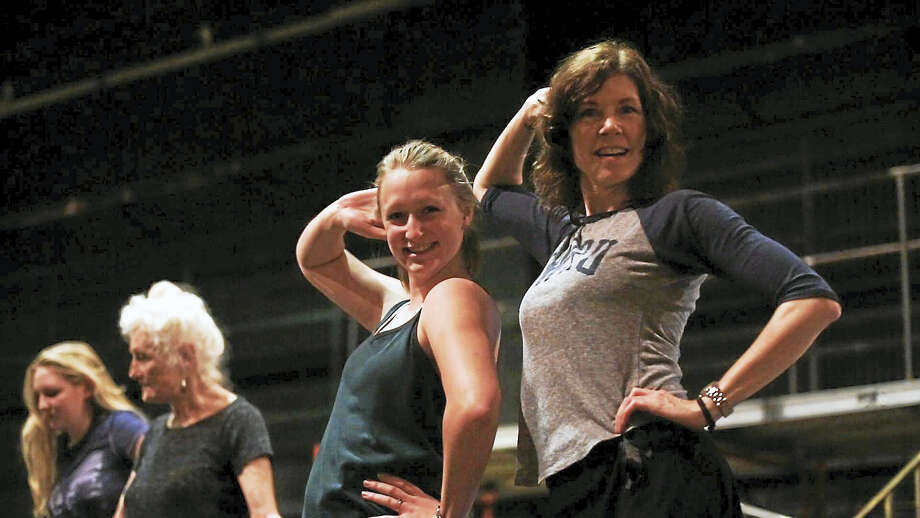 """Contributed photosDancers rehearse for the Warner Stage Company's upcoming production of """"Follies."""" Photo: Digital First Media"""