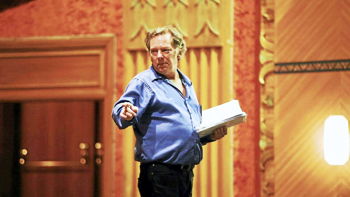 Contributed photos Members of the Warner Stage Company rehearse for the upcoming production of