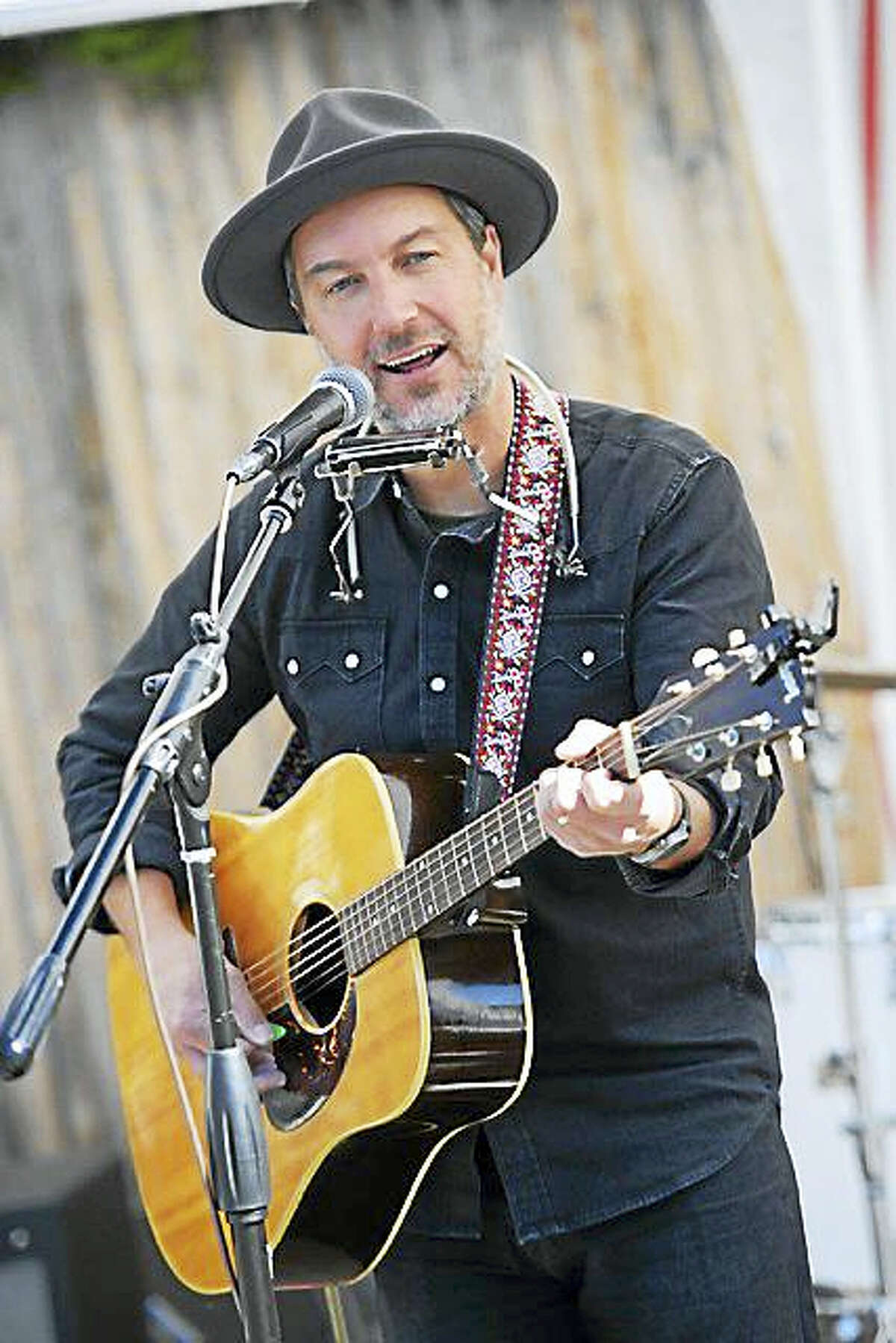 Contributed photoFolk rock musician Brian Dolzani will perform Friday night at Coe Memorial Park's Civic Center, in the first of four concerts presented by the Parks and recreation department in Torrington, along with singer-songwriter Jay Roberts. The Winter Showcase Acoustic Concert Series continues weekly until Feb. 10.