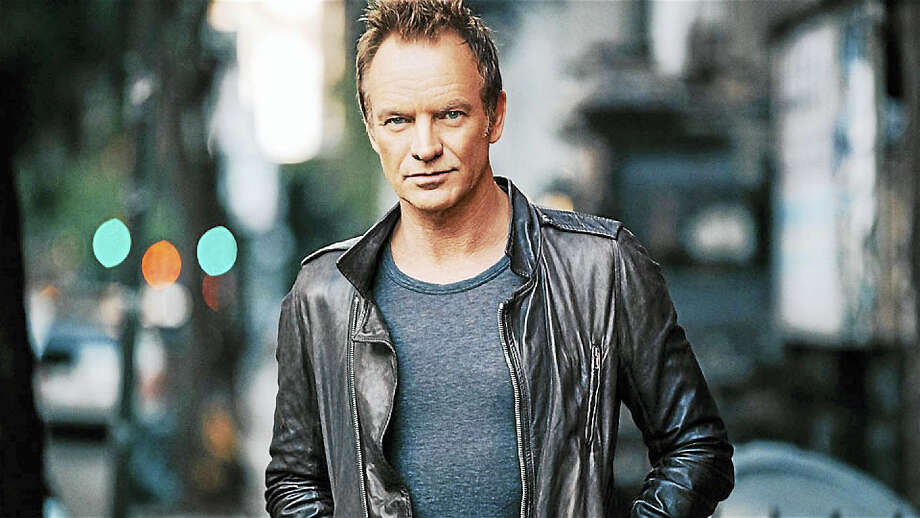 Composer, singer-songwriter, actor, author and activist Sting is set to perform at the Mohegan Sun Arena in Uncasville on Thursday March 9. Photo: Contributed Photo