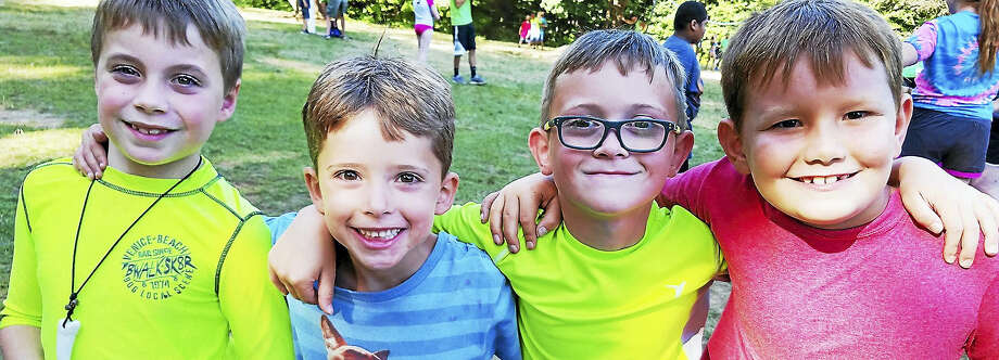 Children of all ages enjoy their time together at Camp Moe in Torrington. Photo: Contributed Photo