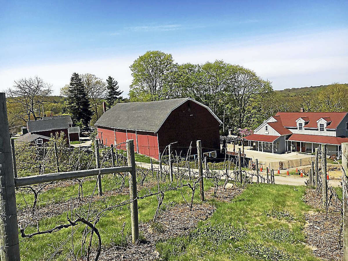 Jones Winery in Shelton was the site of Gov. Dannel P. Malloy's recent visit.