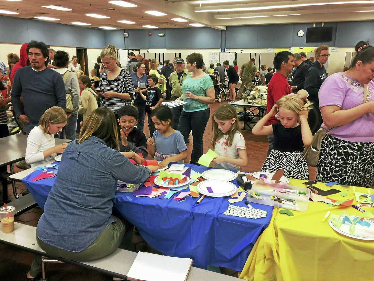 Students and familes enjoyed the annual STEAM carnival this week, as the event was held at Torrington Middle School.