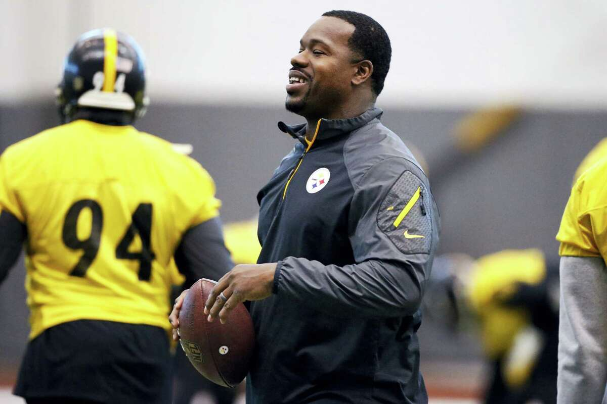 Pittsburgh Steelers assistant coach Joey Porter.