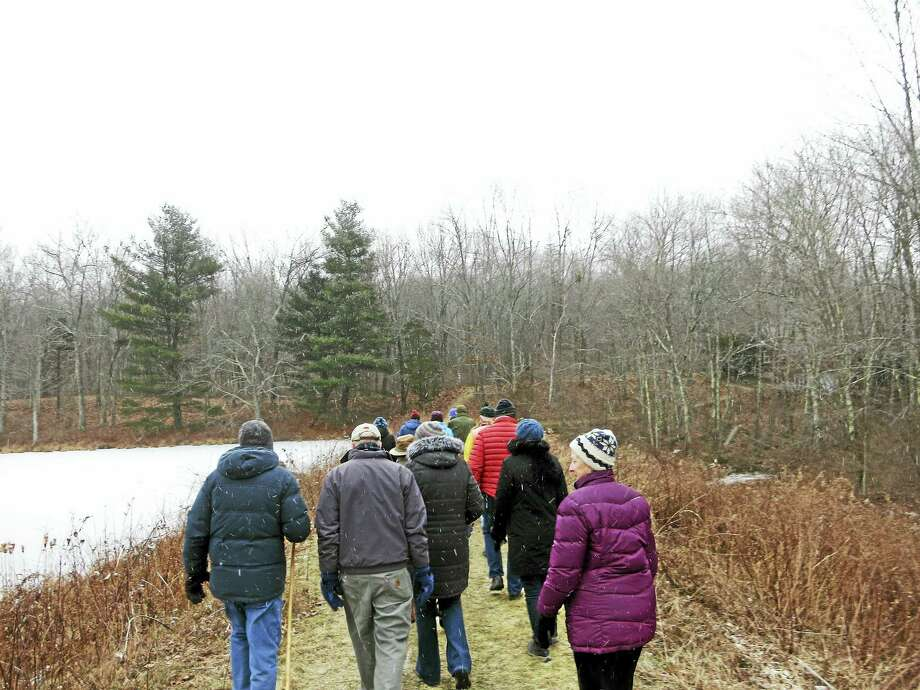 Flanders Nature Center & Land Trust is holding a winter hike on Saturday, January 14th at their Van Vleck Sanctuary in Woodbury.  The cold winters of New England can be hard on us even with heated houses to keep us warm. Our wildlife is not as lucky as we are. Join naturalist Edward Boisits on this walk to learn ways the wildlife around us copes with the ice and snow.   The group will meet at 10AM  at the Flanders Studio parking lot which is located at the intersection of Flanders and Church Hill Roads in Woodbury.  This will be about a two hour walk and appropriate for all skill levels. Please dress appropriately for the weather.    The hike is open to the public and free of charge, though donations that go towards Flanders' programming always welcomed. Those interested may register online at www.flandersnaturecenter.org or call 203-263-3711, ext. 10, for more information. Photo: Digital First Media