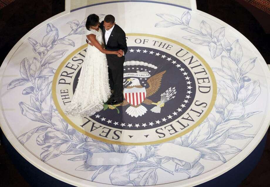 """On what it felt like to become the first black first lady: """"As the only African American First Lady to set foot in the White House, I was 'other' almost by default. ... I had to be better, faster, smarter and stronger than ever. My grace would have to be earned."""" Photo: AP / 2009 AP"""