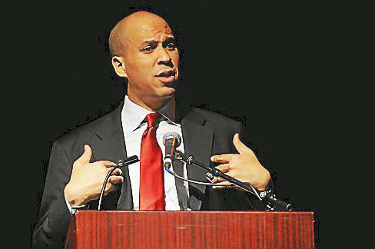 U.S. Sen. Cory Booker, D-New Jersey