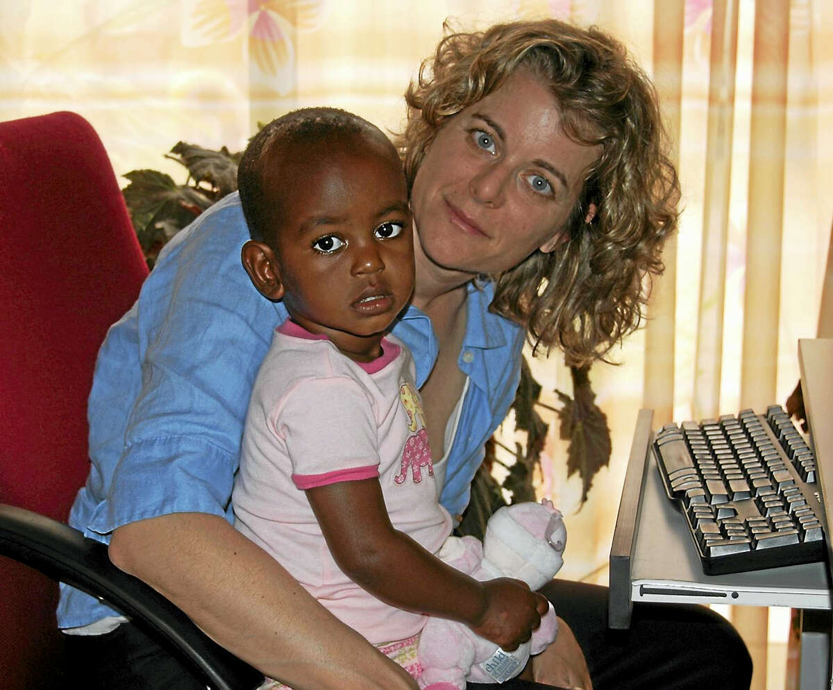 Christine Ieronimo with her daughter.
