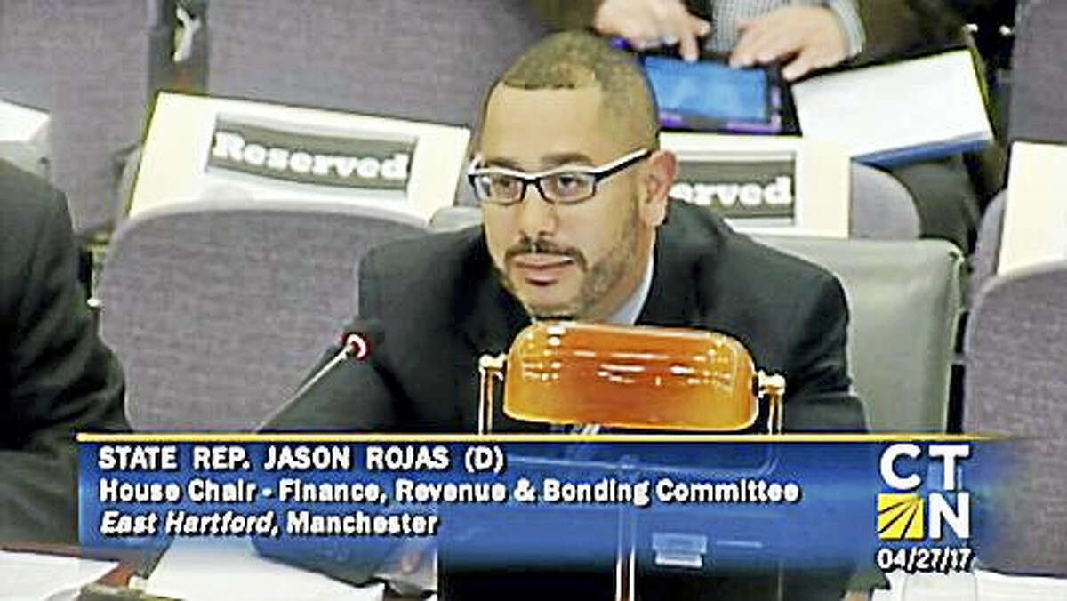 Rep. Jason Rojas, co-chairman of the Finance, Revenue and Bonding Committee
