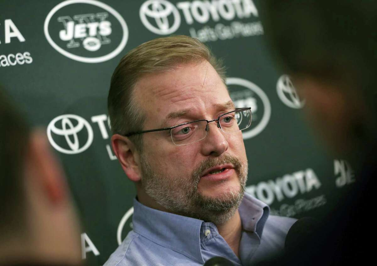 Jets general manager Mike Maccagnan.