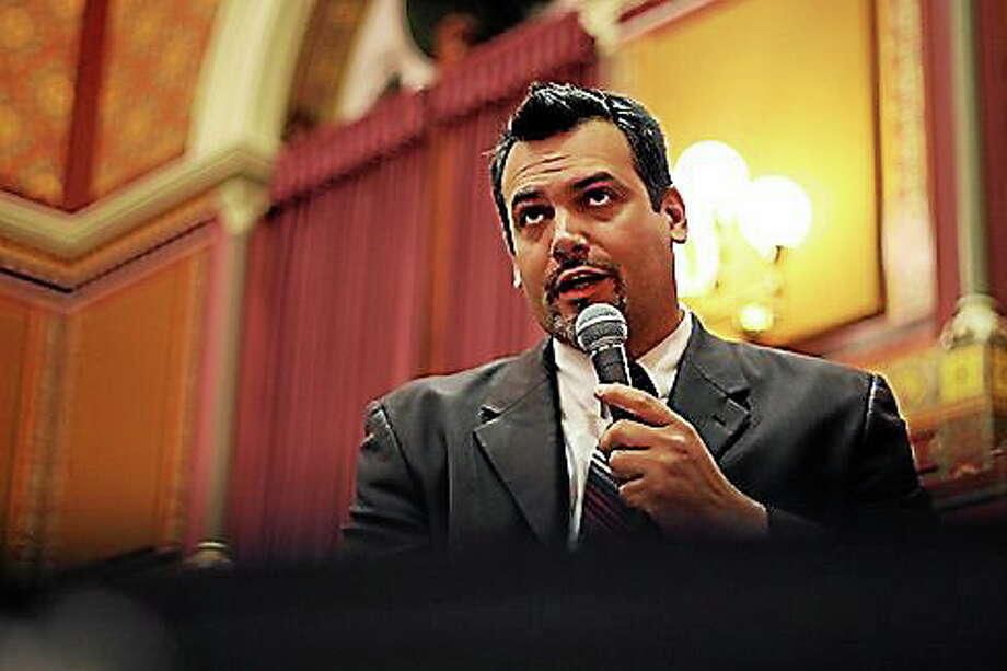 State Rep. Juan Candelaria, D-New Haven. Photo: CTNewsJunkie.com File Photo